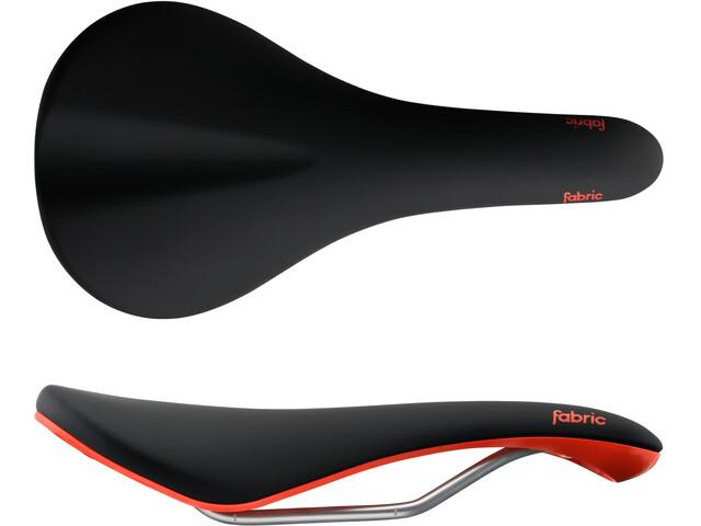 Fabric Scoop Elite Radius Saddle black/red